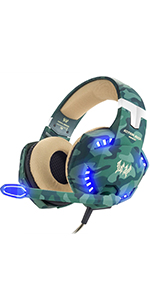 Casque Gaming PS4 Camouflage