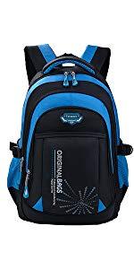 Fanspack Sac garcon primaire Cartable garcon en nylon sac a dos garcon college Cartable scolaire Sac ecole r/ésistant aux /éclaboussures