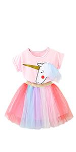 NNJXD Robe de Princesse avec Licorne · Robe Fille Nouveau-né 1 ans  Anniversaire · NNJXD Robe de Princesse avec Licorne · NNJXD Fille Fleur  Baptême De ... 1ae4dd1d280