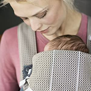 Le Porte-bébé Mini BABYBJÖRN. Matériaux adaptés aux enfants