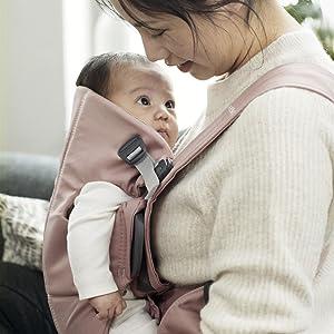 Porte-bébé Mini – en coton doux et souple!