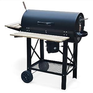 barbecue smoker charbon americain fumoir saucisse bbq