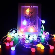 LED Piles Petites Boules