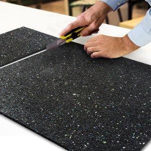 tapis anti vibration etm caoutchouc isonoriant isolant. Black Bedroom Furniture Sets. Home Design Ideas