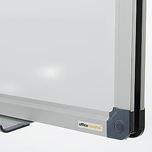 tableau blanc magnetique effacable solide aimanté laqué cadre en aluminium parfaite stabilité