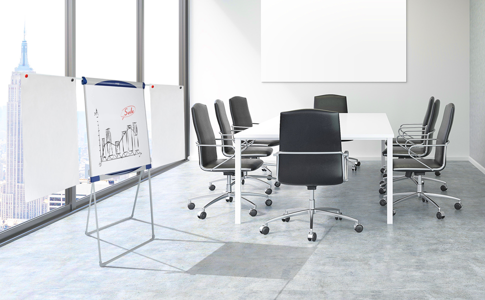 Master of boards chevalet de conférence paperboard tableau blanc