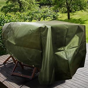 Bache imperm/éable etm/® avec oeillet Verte 4x6m env Bache de protection ext/érieur /& int/érieur Bache /étanche /& r/ésistante /à leau et UV Epaisse densit/é 140g//m/²
