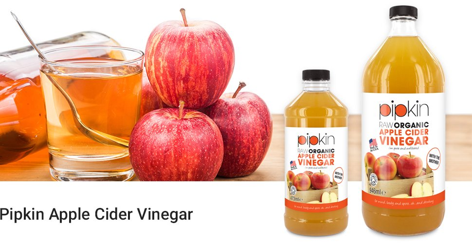 Vinaigre de cidre de pommes brut avec la m re 100 bio organicpipkin pur non raffin non - Mere de vinaigre de cidre ...