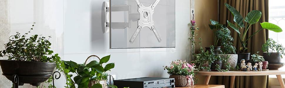 ONKRON M4 Support TV Mural pour Téléviseur LCD LED OLED Plasma