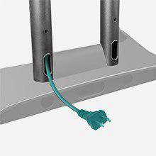 Système de gestion de passe-câbles