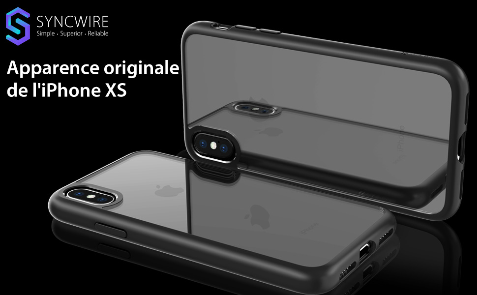 coque iphone xs syncwire