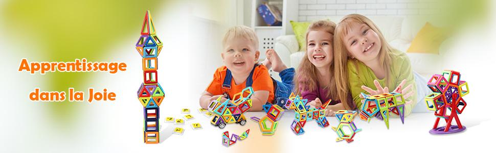 blocs construction magnetiques