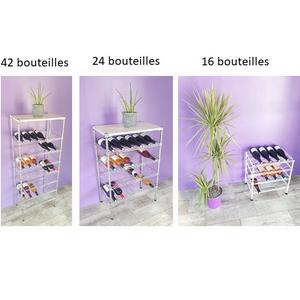 étagère à bouteilles toutes capacités