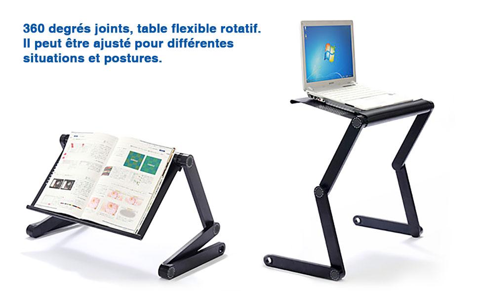 Lifebasis Magazine Pour Pc Portable Réglable Compacte Table Lecture Livre Ordinateur Légère Et De Plateau Pliable Ultrabook Lit rshdtQ