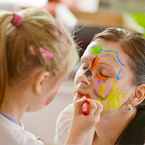 Visage Corporelle Maquillage Peinture Crayons