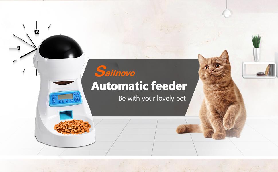 distributeur nourriture chat