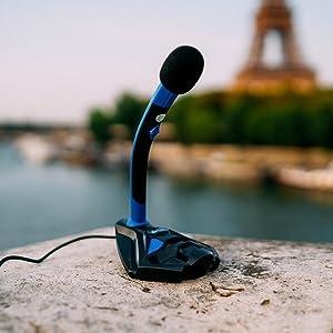 Un microfono non solo per i giocatori