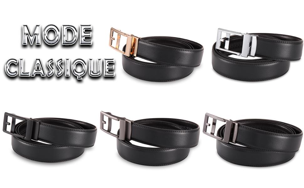 Cette ceinture pour homme est non seulement utilisée pour le port  quotidien, mais aussi pour vous rendre plus fashion et montrer votre propre  style. b6050093f95