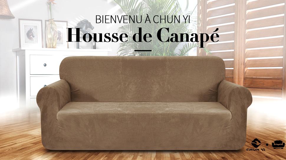 chun yi 1 pi ce en peluche housse de canap lastique spandex rev tement de canap pais 3. Black Bedroom Furniture Sets. Home Design Ideas