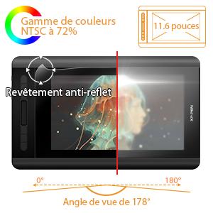 tablette graphique avec écran xp pen artist 12