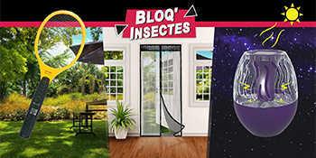 Gamme anti-insectes BLOQ'INSECTES