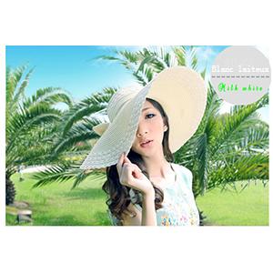 Leisial Femme Capeline Chapeau /à Large Bord Casquettes visi/ères Anti-Soleil Respirant Anti UV Pliable Chapeau de Soleil pour /ét/é Plage Loisir Voyage