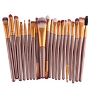 leisial Pinceaux Maquillage Professionnel Teint Femmes pas cher jaune