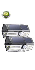 Lumens LedMpow Extérieur Ip65 Lampe Etanche Solaire 54 1188 uwOPkZiXT