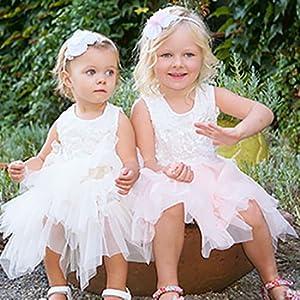 47528dc28fa robe plissée enfant fille robe princesse blanche rose turquoise bleu violet  robe été fillette chic