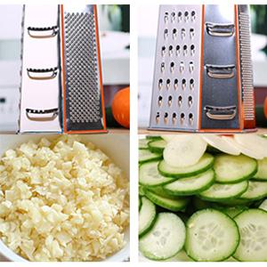 Peler finement(Eplucheur) - Utilisez-le uniquement pour l'ail haché.