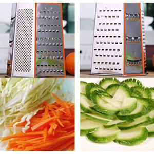 Pièces moyen-fine - Préparez des tranches croquantes à partir de concombres, de pommes de terre et