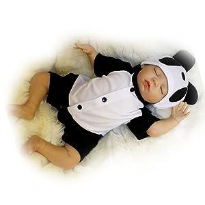 566225257915d poupée reborn bebe reborn realiste poupon nouveau-né silicone vinyle garçon