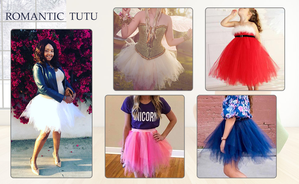 56977ee986b35 Bbonlinedress Ballet Tutu en Tulle Jupe Courte Style années 50 ...