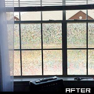 rabbitgoo film pour vitre effet cath drale film adh sif pour fen tre anti uv d coratif statique. Black Bedroom Furniture Sets. Home Design Ideas