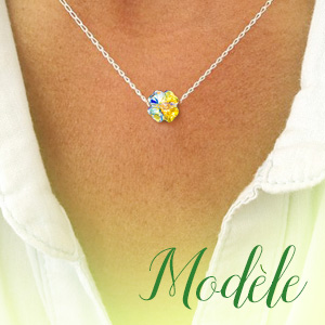 0fe58632049ec ANGEL NINA Femme Bracelet Ajustable Trèfle Porte-bonheur Argent 925 ...