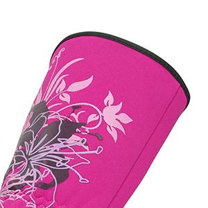 Pretty in Pink Ongles Fleur pour Femme Nouveauté cuisine four gant néoprène Mitt