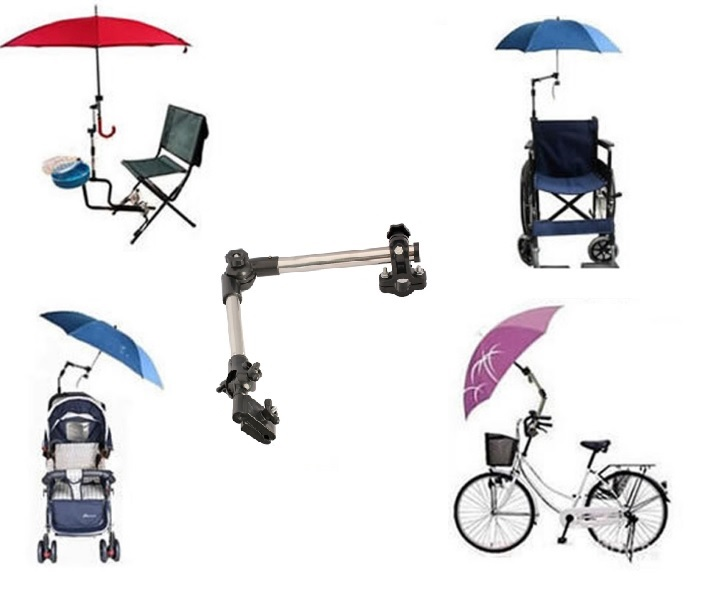 fauteuils roulants Porte parapluie pour poussette d/éambulateurs