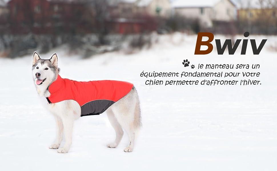 Manteau Vêtement Polaire Ou Passage La Laisse Noir 5xl Imperméable Un D'hiver Intérieur Du Harnais Bwiv Avec Chiens Pour Grand Veste Ouverture I2EDH9