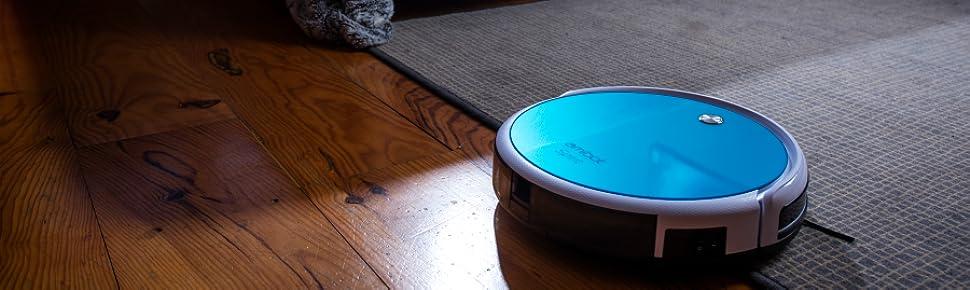 AMIBOT Spirit HORobots Aspirateurs Amazonfr Cuisine Maison - Plinthe carrelage et tapis de bain bleu lagon