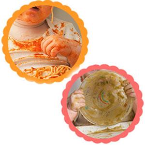 Assiette Ventouse pour B/éb/é Coffre-fort pour Lave-vaisselle et Micro-ondes Napperon pour B/éb/é Portable pour Tout-petits iKiKin Assiette Bebe en Silicone El/éphant avec Antid/érapant Rose