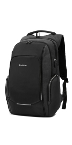 97280f97c5 Xnuoyo Sac à Dos Ordinateur Portable, 15,6 Pouces Laptop Backpack Étanche Sac  à Bandoulière Laptop avec Chargeur USB et Port de Casque, ...