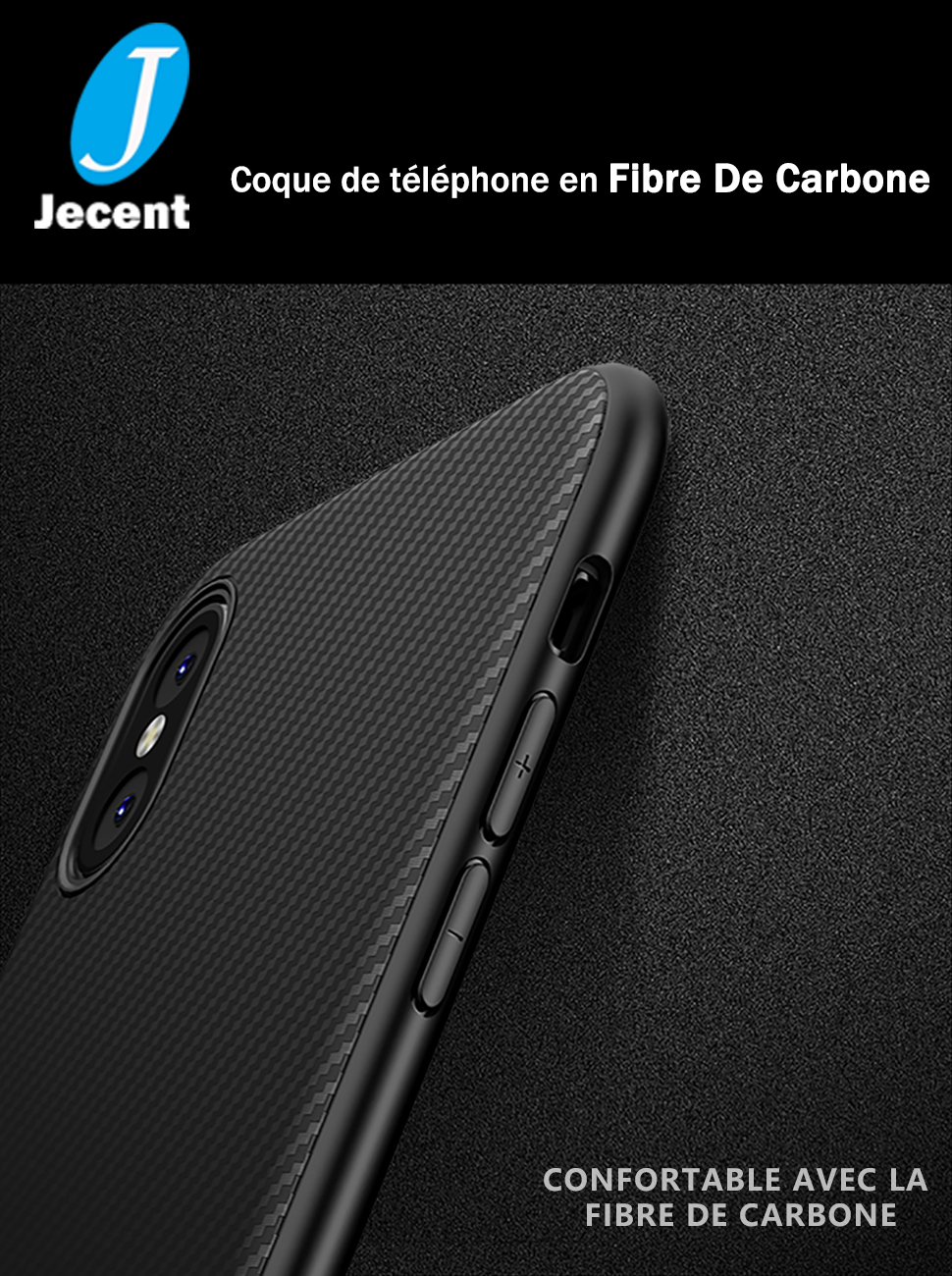 coque iphone x jecent
