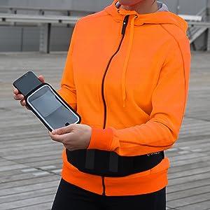 ceinture sport running fitness magnetique