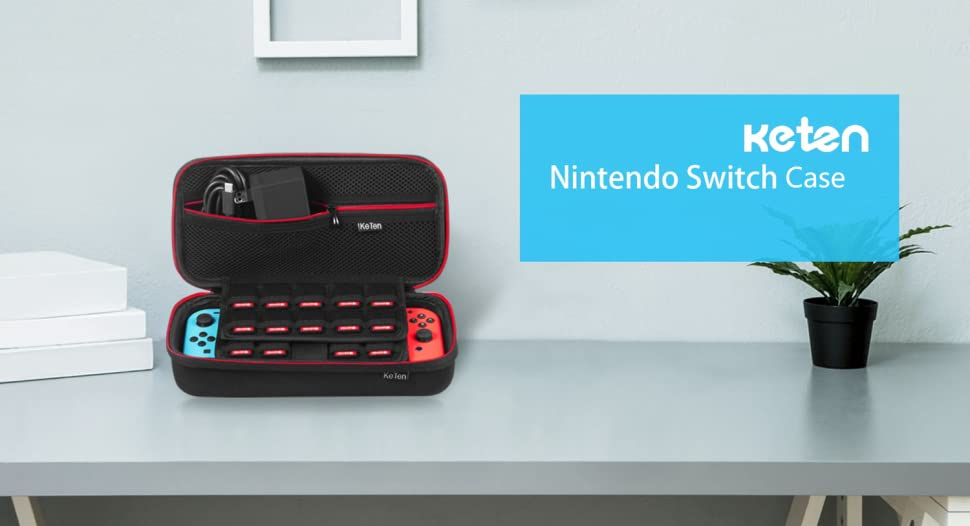Etui pour nintendo switch keten version la plus r cente for Housse nintendo switch