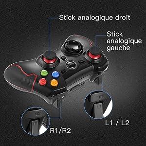joystick ergonomique