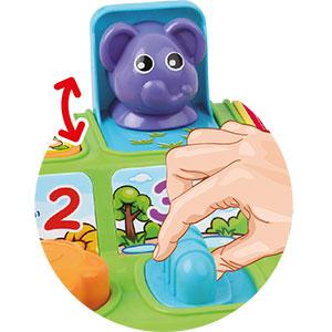 ThinkGizmos Activit/é Jouets pour Tout-Petits Jouets /éducatifs interactifs pour Jeunes Enfants Animaux Anim/és