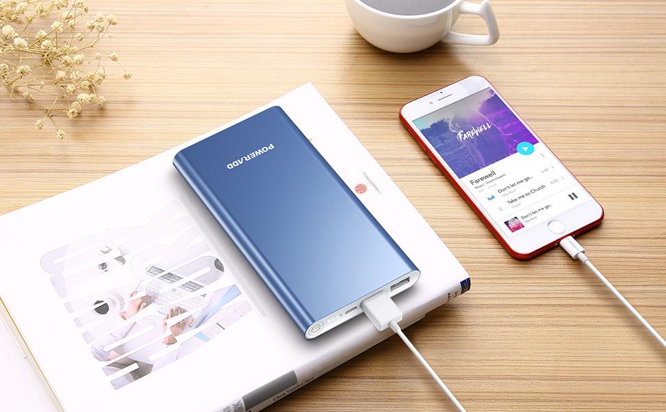 Batterie de secours pour iphone