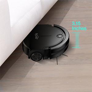 Housmile Aspirateur Robot 90 Minutes de Travail Aspiration