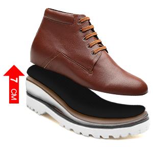 CHAMARIPA Bottes Chelsea Homme Ascenseur Chaussures Noir - 7 CM Taller-L72B27K055D JoRgA