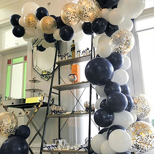 62ccb2bc5ab335 PartyWoo Ballon Blanc Dore Bleu, 50 pcs 12 Pouces Ballon Bleu Marine,  Ballons Bleu Roi, Ballon Blanc, Ballon Doré, Ballon Confettis Or, Ballon ...